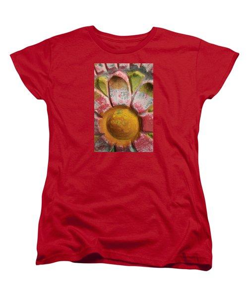 Women's T-Shirt (Standard Cut) featuring the photograph Skc 0008 Scraped Paint by Sunil Kapadia