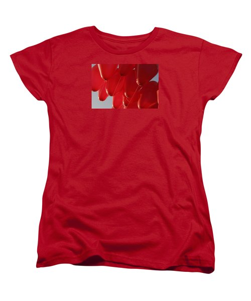 Women's T-Shirt (Standard Cut) featuring the photograph Skc 0029 Unity In Flying by Sunil Kapadia