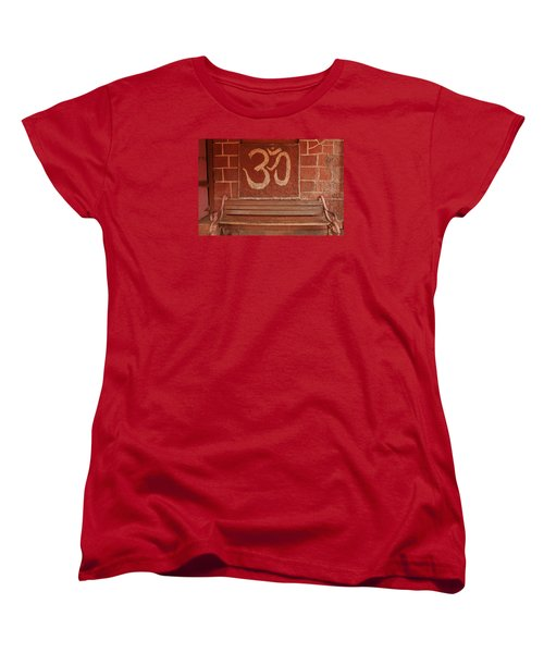 Women's T-Shirt (Standard Cut) featuring the photograph Skc 0316 Welcome The Gods by Sunil Kapadia
