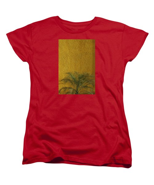 Women's T-Shirt (Standard Cut) featuring the photograph Skc 1243 Colour And Texture by Sunil Kapadia