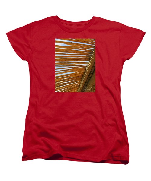 Sky-lined  Women's T-Shirt (Standard Cut) by Joy Hardee