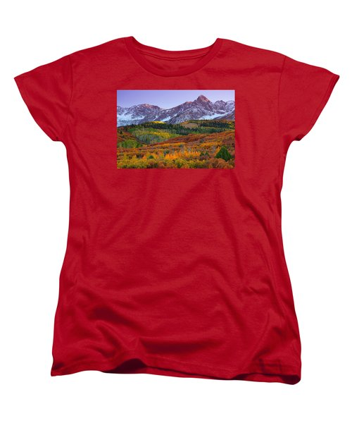 Sneffels Sunrise Women's T-Shirt (Standard Cut)