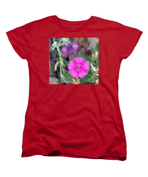 Women's T-Shirt (Standard Cut) featuring the photograph Solitary by Andrea Anderegg