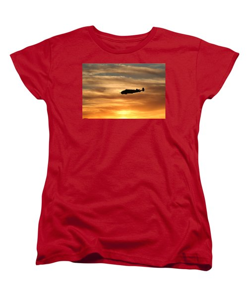 Women's T-Shirt (Standard Cut) featuring the photograph Solo by David S Reynolds