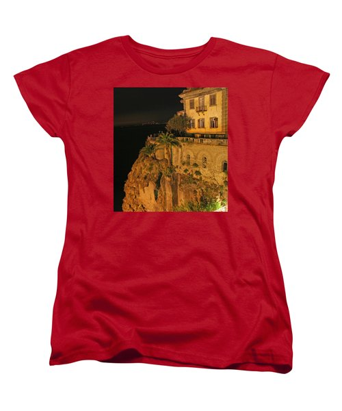 Sorrento Italy Women's T-Shirt (Standard Cut) by Richard Engelbrecht