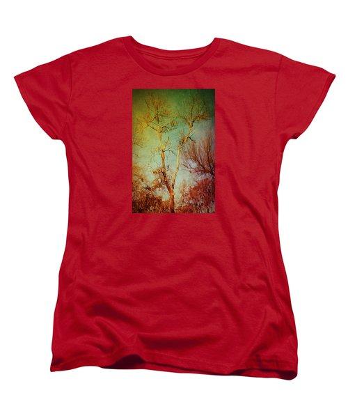 Souls Of Trees Women's T-Shirt (Standard Cut) by Trish Mistric