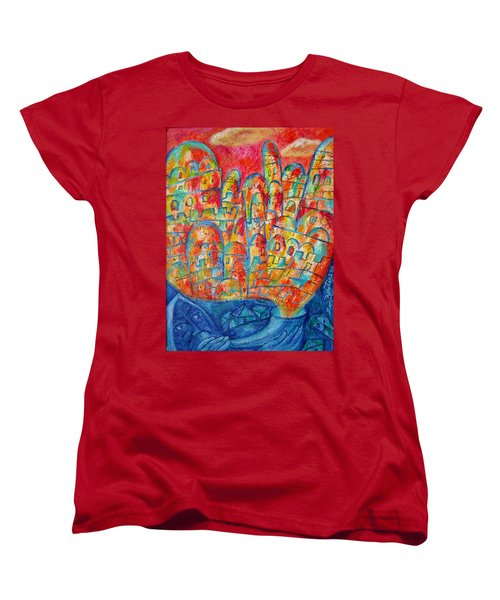 Sound Of Shofar Women's T-Shirt (Standard Cut) by Leon Zernitsky
