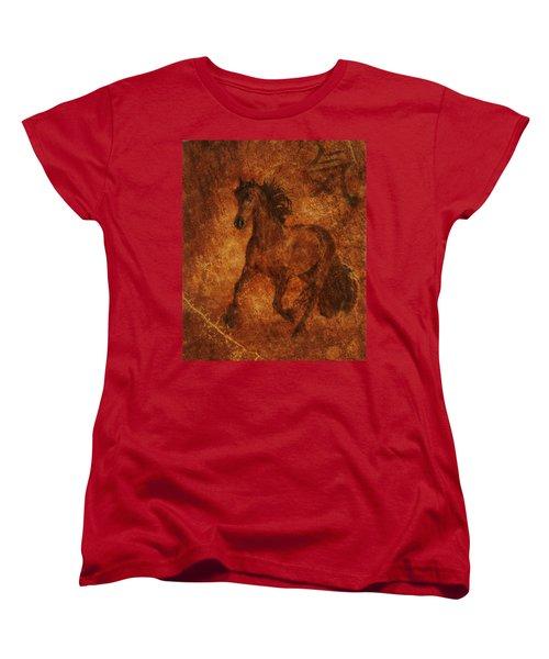 Spirit  Women's T-Shirt (Standard Cut) by Melinda Hughes-Berland