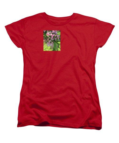Spring Blossoms - Flower Photography Women's T-Shirt (Standard Cut) by Miriam Danar