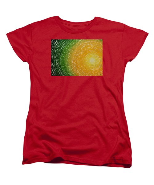 Spring Sun Original Painting Women's T-Shirt (Standard Cut) by Sol Luckman