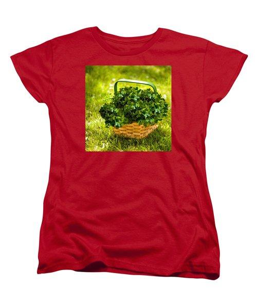 St Patricks Day Women's T-Shirt (Standard Cut) by Bob and Nadine Johnston