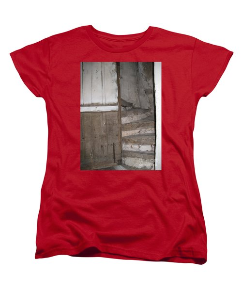Women's T-Shirt (Standard Cut) featuring the photograph Staircase by HEVi FineArt