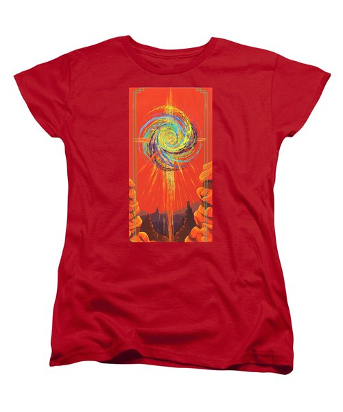 Star Of Splendor Women's T-Shirt (Standard Cut) by Alan Johnson