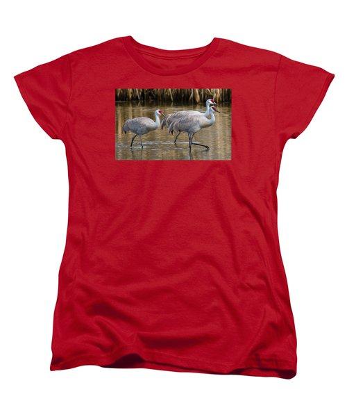 Steppin Out Women's T-Shirt (Standard Cut) by Randy Hall