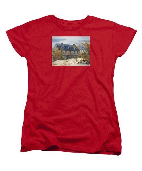 Stevens House Women's T-Shirt (Standard Cut) by Barbara Barber