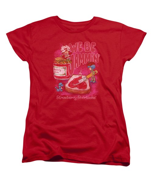 Strawberry Shortcake - Jammin Women's T-Shirt (Standard Cut) by Brand A