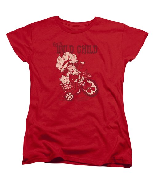 Strawberry Shortcake - Wild Child Women's T-Shirt (Standard Cut) by Brand A