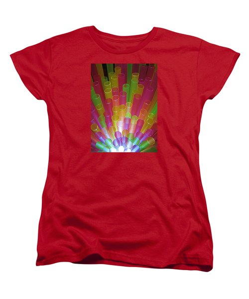 Women's T-Shirt (Standard Cut) featuring the photograph Straws II by John King