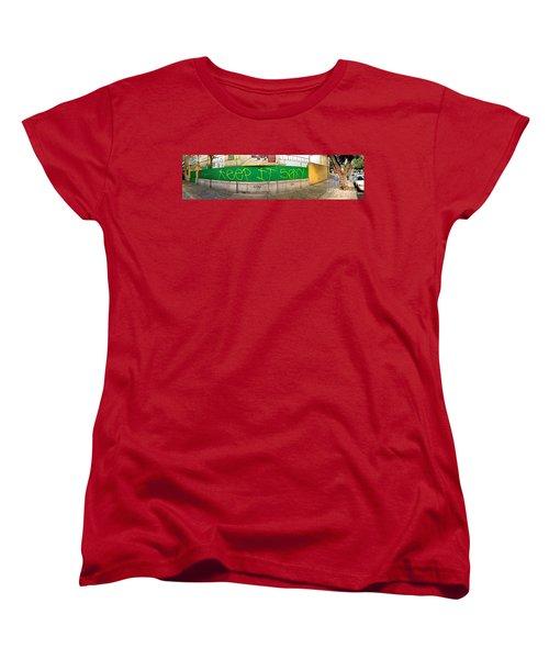 Street Scene - Mexico City Women's T-Shirt (Standard Cut) by Sean Griffin