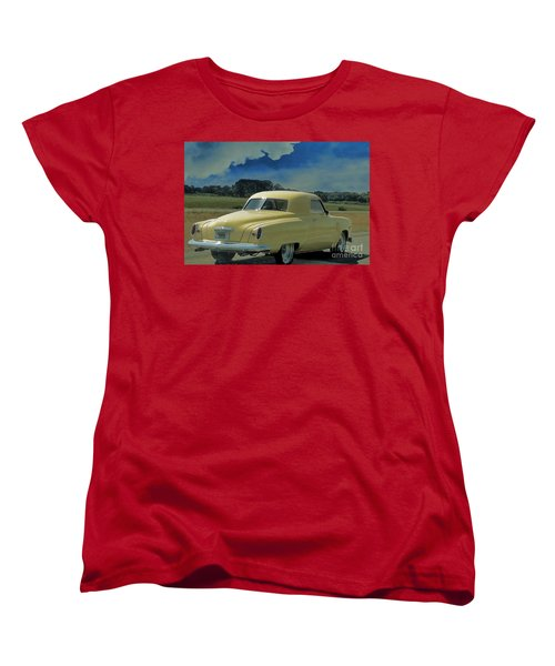Studebaker Starlight Coupe Women's T-Shirt (Standard Cut) by Janette Boyd