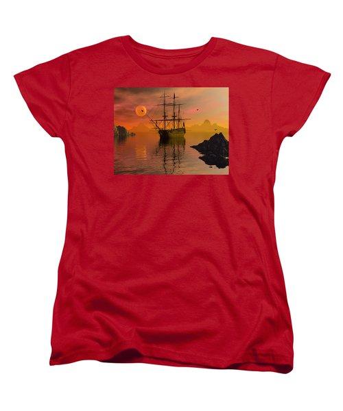 Summer Anchorage Women's T-Shirt (Standard Cut)