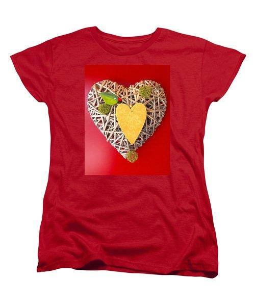 Women's T-Shirt (Standard Cut) featuring the photograph Summer Heart by Juergen Weiss