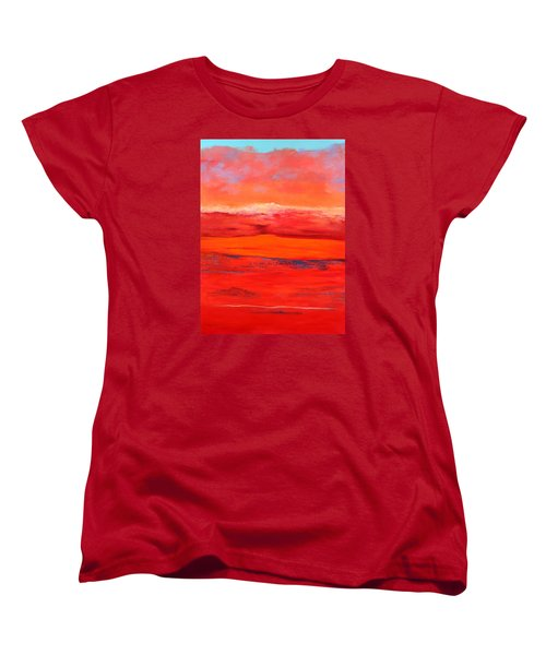 Summer Heat 2 Women's T-Shirt (Standard Cut) by M Diane Bonaparte
