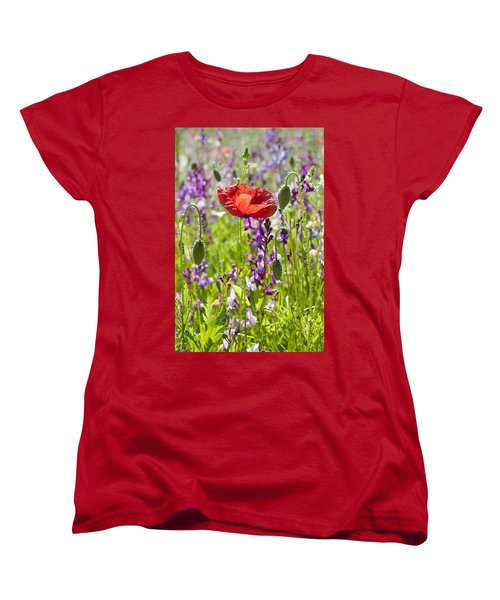 Women's T-Shirt (Standard Cut) featuring the photograph Summer by Lana Enderle
