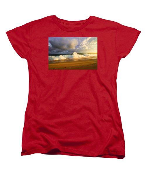 Women's T-Shirt (Standard Cut) featuring the photograph Summer Storm by Eti Reid
