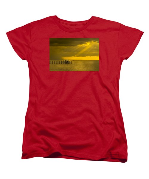 Sunbeams Of Hope Women's T-Shirt (Standard Cut) by Marvin Spates