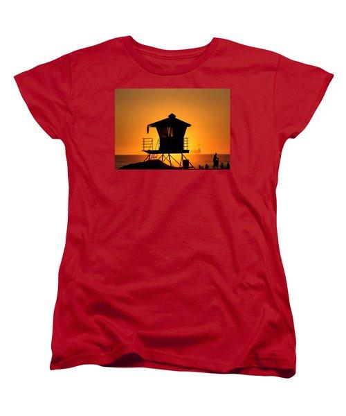 Sunburst Women's T-Shirt (Standard Cut) by Tammy Espino