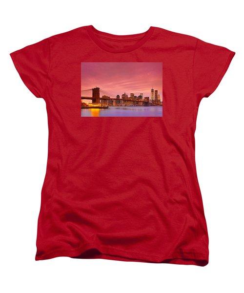 Sundown City Women's T-Shirt (Standard Cut) by Midori Chan