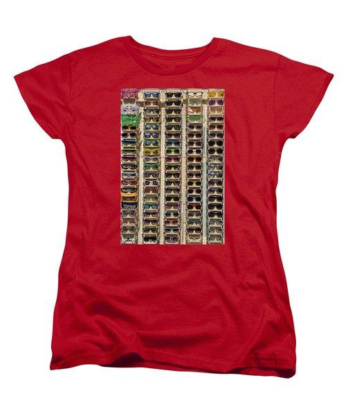 Sunglasses Women's T-Shirt (Standard Cut) by Peter Tellone