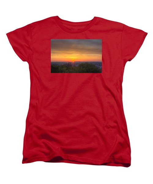 Sunrise Women's T-Shirt (Standard Cut) by Daniel Sheldon