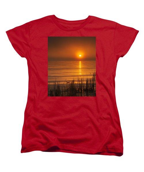 Sunrise Through The Fog Women's T-Shirt (Standard Cut) by Scott Norris