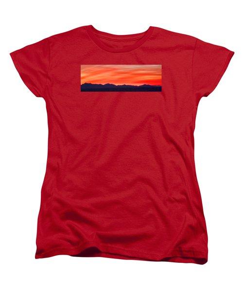 Women's T-Shirt (Standard Cut) featuring the photograph Sunset Algodones Dunes by Hugh Smith