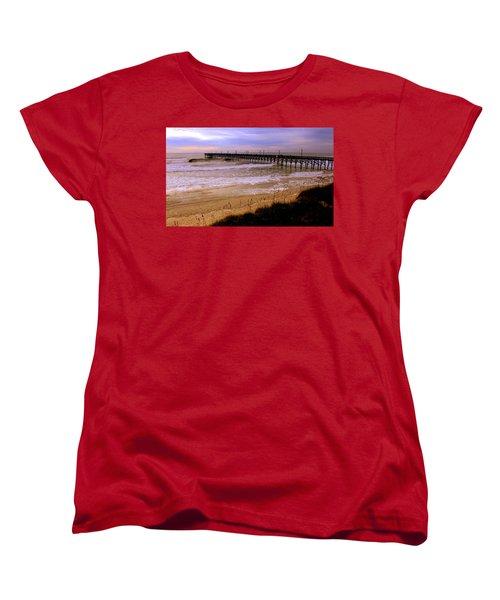 Surf City Pier Women's T-Shirt (Standard Cut)