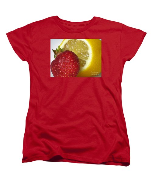 Women's T-Shirt (Standard Cut) featuring the photograph Sweet And Sour by Nina Silver