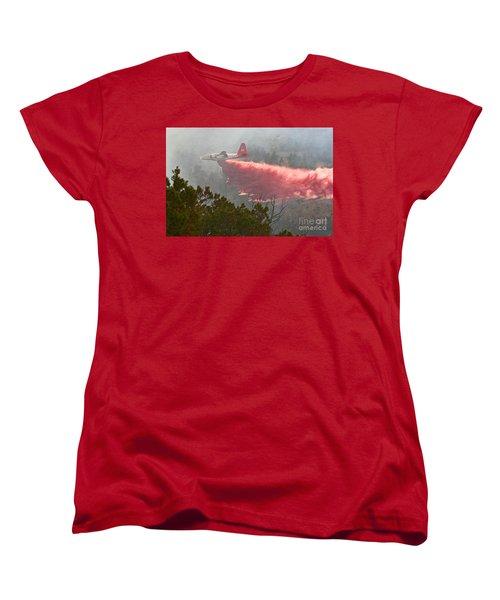 Tanker 07 On Whoopup Fire Women's T-Shirt (Standard Cut) by Bill Gabbert
