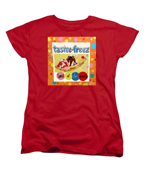 Tastee Freez Women's T-Shirt (Standard Cut) by Beth Saffer