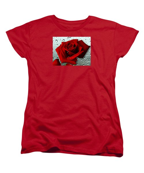 Tears From My Heart Women's T-Shirt (Standard Cut) by Morag Bates