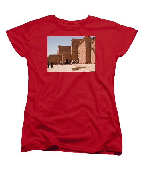 Temple Building Women's T-Shirt (Standard Cut) by James Gay