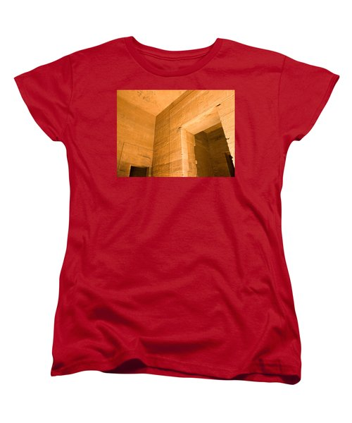 Temple Interior Women's T-Shirt (Standard Cut) by James Gay