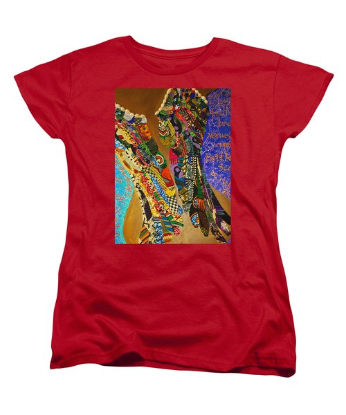 Temple Of The Goddess Eye Vol 1 Women's T-Shirt (Standard Cut) by Apanaki Temitayo M