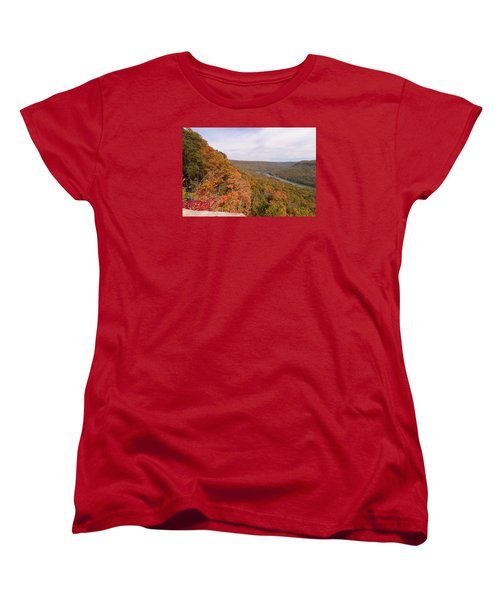 Women's T-Shirt (Standard Cut) featuring the photograph Tennessee Riverboat Fall by Paul Rebmann