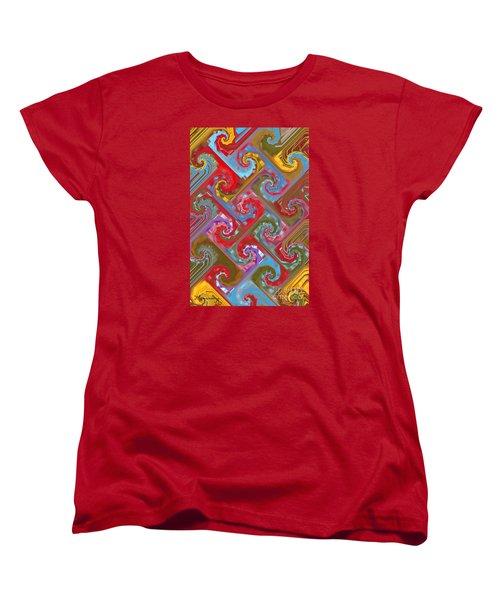 Women's T-Shirt (Standard Cut) featuring the digital art Tessellation by Mariarosa Rockefeller