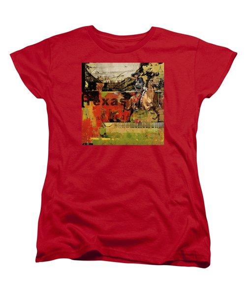 Texas Rodeo Women's T-Shirt (Standard Cut)