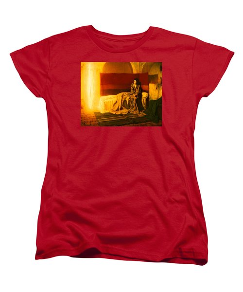 The Annunciation Women's T-Shirt (Standard Cut) by Mountain Dreams