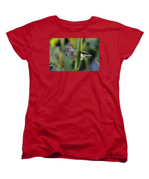 Women's T-Shirt (Standard Cut) featuring the photograph The Challenge by Gary Holmes