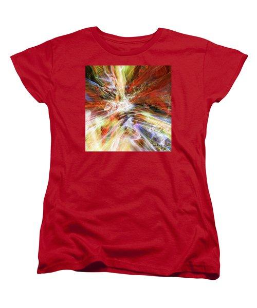 Women's T-Shirt (Standard Cut) featuring the digital art The Cleansing by Margie Chapman